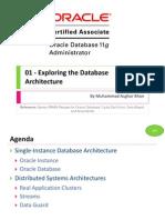 OCA 01 - Exploring the Database Architecture