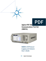 E6621-90004-N6061A LTE Protocol Logging and Analysis User Manual