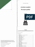 Mis mejores partidas - Anatoli Karpov (2da Edición)