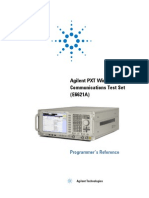 E6621-90007-Communications Test Set Programmer Guide