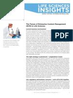 The Future of Enterprise Content Management (ECM) in Life Sciences