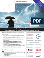 Compliance for Law Firms