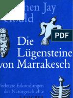 Gould, Stephen Jay - Die Luegensteine Von Marrakesch