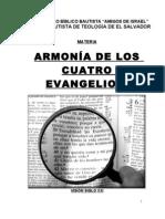 Armonia de Los 4 Evangelios (Folleto)