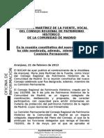 NOMBRAMIENTO CONSEJO REGIONAL DE PATRIMONIO HISTÓRICO