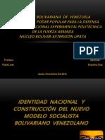 Identidad Nacional, Lina Ron! xD