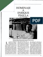 Sánchez Málaga,  Armando - Homenaje a Enrique Pinilla [Conservatorio -- No. 2 (Dic. 1989)]
