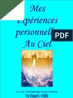 Mes expériences personnelles au Ciel