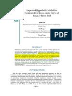 A-Improved Hyperbolic for Harden - Soften Stress-Strain Curve - 2012