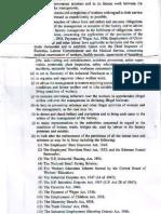 Duties of Welfare Officer