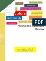 0 Ok Noun Adjective Review 7 Material Sem Efeitos