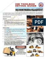 Working Safely With Mobile Equipment