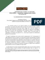 ESSACHESS_ Appel à Com_vol7_n1_13_2014