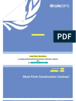 UNOPS - Short Form Contract (Based on FIDIC short form).pdf