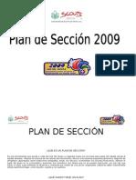 Plan de Sección 2009
