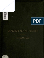 Shakespearean Archery