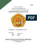 Perancangan Formulir/Dokumen Dan Catatan Dalam Sistem Informasi Akuntansi