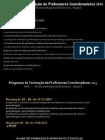 reunião PC_2013