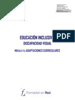 EDUCACIÓN INCLUSIVA D. VISUAL
