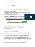 NEW PrepU Quick Access Guide for Students