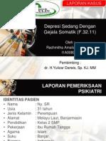 Lapsus Ulin-Depresi Dg Gejala Somatik F 32.11