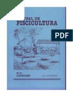 Livro - Manual de Piscicultura