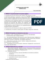 Programa Quimica - 5to Ano - 2012