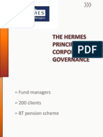 The Hermes Principles of Corporate Governance