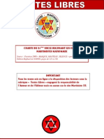 Charte Du Xxie Siecle Des o.m