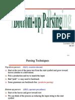Bottom Up Parsing