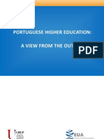European University Association [Crup] 2013_portuguese Higher Education, A View From the Outside [February]