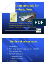 Ice Melting Methods for Overhead Lines