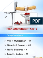 Risk and Uncertainty New