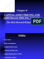 Chapter 8 Capital Asset Pricing & Artge Prng Thry