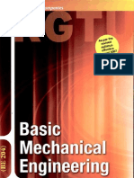 Basic Mechanical Engineering (Be 204) by Nag