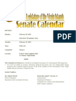 LegislativeCalendar Week Beginning 2.18.13