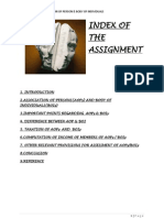 Assessment of AOP and BOI