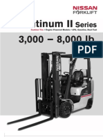 Nissan Forklift Specifications