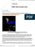 STEPHEN HAWKING_ How to Build a Time Machine _ Mail Online