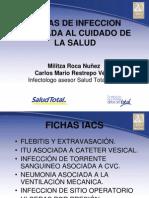 Fichas de Infeccion Asociada Al Cuidado de La Salud
