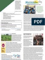 Comfort Rwanda Spring 2013 Newsletter