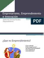 Empresarismo, Emprendimiento e Innovación