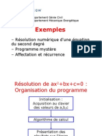 Exemple s