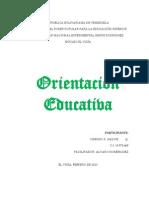 ORIENTACION EDUCACTIVA