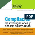 Compilación de investigaciones y análisis de coyuntura ambiental en Guatemala