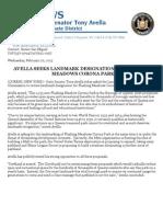 FMCP Landmark Designation PR