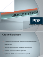 Oracle System Architecture