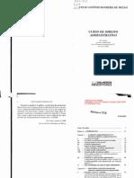 Celso Antônio Bandeira de Mello (DIR210UBC) - Curso de Direito Administrativo (2009)