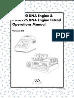 MJ Research PTC225 Manual