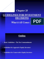 Chapter 25 Guidelines for Invst Decisions
